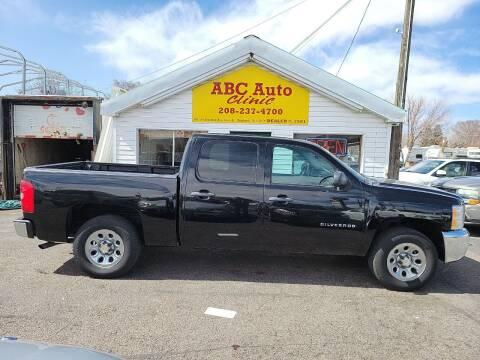 2012 Chevrolet Silverado 1500 for sale at ABC AUTO CLINIC - Chubbuck in Chubbuck ID