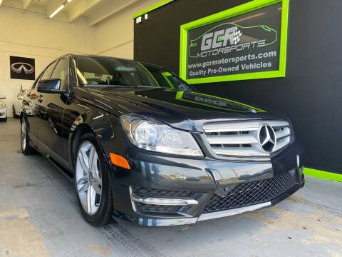 2012 Mercedes-Benz C-Class for sale at GCR MOTORSPORTS in Hollywood FL