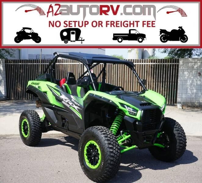 2020 Kawasaki Teryx KRX 1000 for sale at AZautorv.com in Mesa AZ