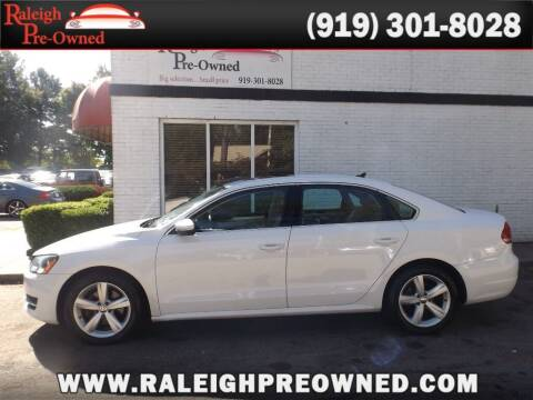 2012 Volkswagen Passat for sale at Raleigh Pre-Owned in Raleigh NC