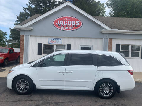 2013 Honda Odyssey for sale at Jacobs Motors LLC in Bellefontaine OH
