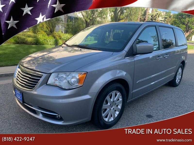 2014 Chrysler Town and Country for sale at Trade In Auto Sales in Van Nuys CA