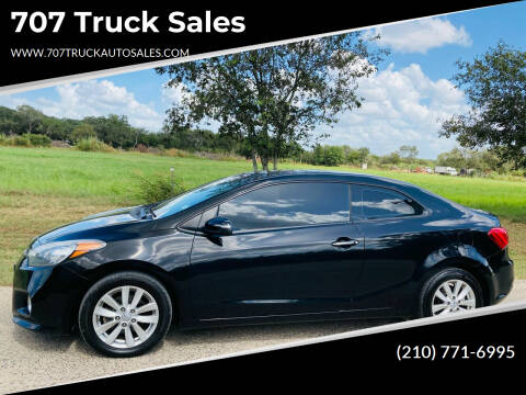 2014 Kia Forte Koup for sale at 707 Truck Sales in San Antonio TX