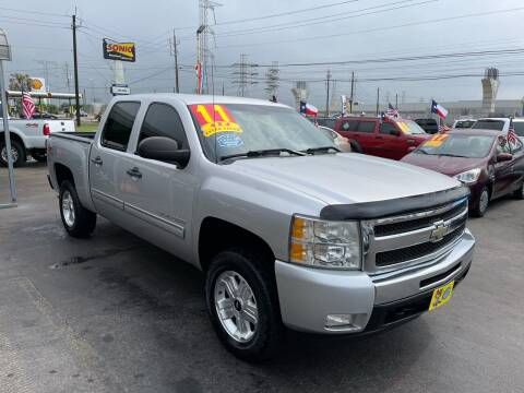 2011 Chevrolet Silverado 1500 for sale at Texas 1 Auto Finance in Kemah TX