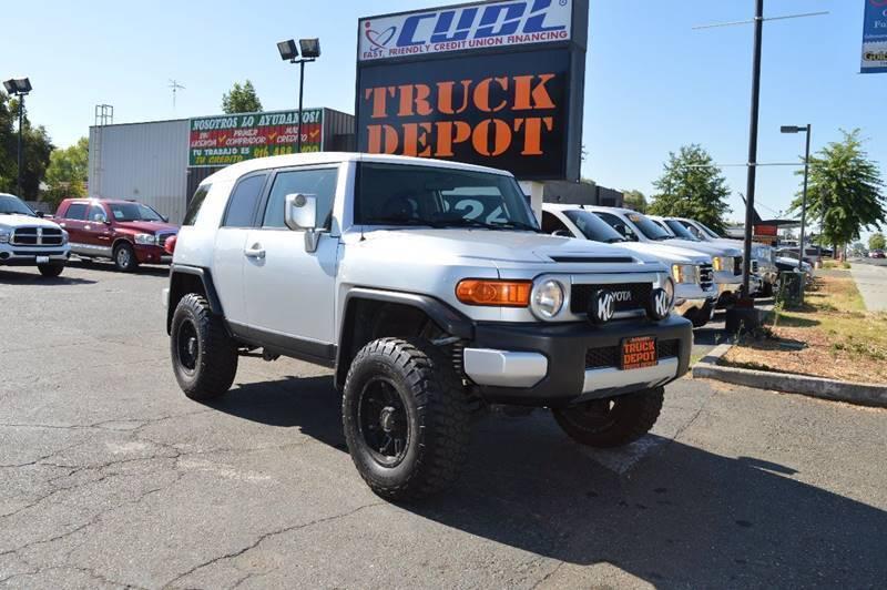 2007 Toyota FJ Cruiser for sale at Sac Truck Depot in Sacramento CA