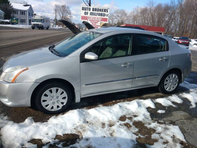 2011 Nissan Sentra for sale at Auto Brokers of Milford in Milford NH