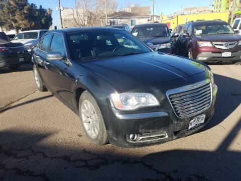 2012 Chrysler 300 for sale at BERKENKOTTER MOTORS in Brighton CO