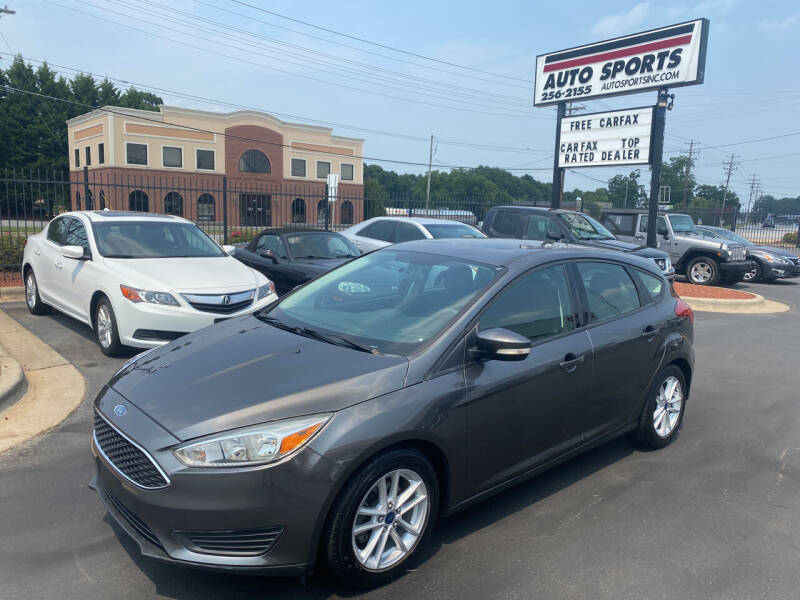 2015 Ford Focus for sale at Auto Sports in Hickory NC