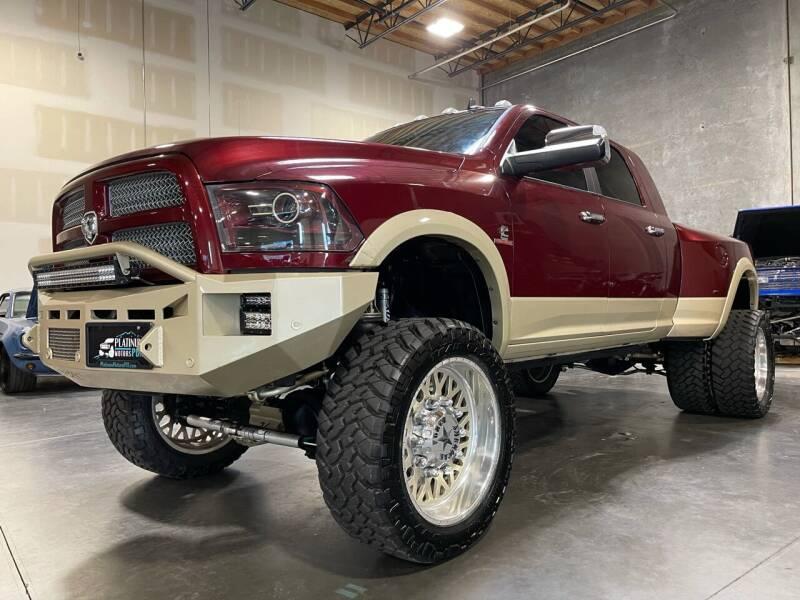 2016 RAM Ram Pickup 3500 for sale at Platinum Motors in Portland OR