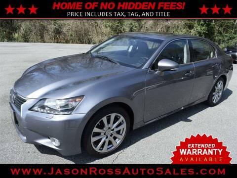 2014 Lexus GS 350 for sale at Jason Ross Auto Sales in Burlington NC