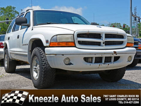 1998 Dodge Durango for sale at Kneezle Auto Sales in Saint Louis MO