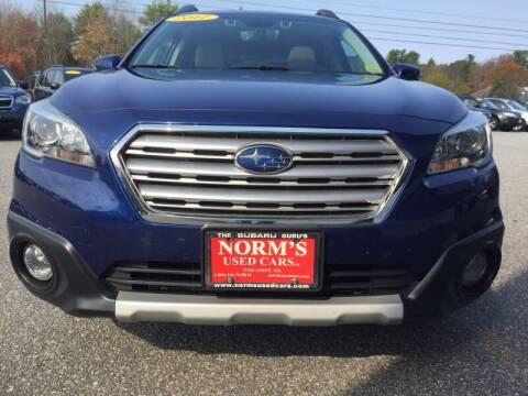 2017 Subaru Outback for sale at Norm's Used Cars INC. in Wiscasset ME