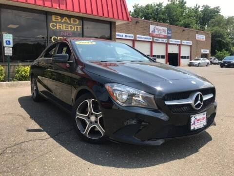 2014 Mercedes-Benz CLA for sale at PAYLESS CAR SALES of South Amboy in South Amboy NJ