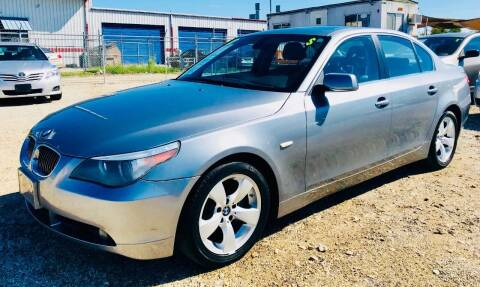2007 BMW 5 Series for sale at Al's Motors Auto Sales LLC in San Antonio TX