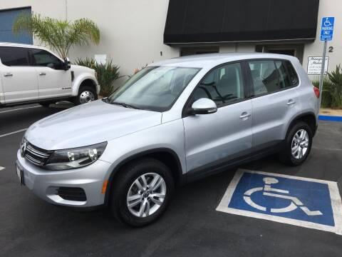 2012 Volkswagen Tiguan for sale at MANGIONE MOTORS ORANGE COUNTY in Costa Mesa CA