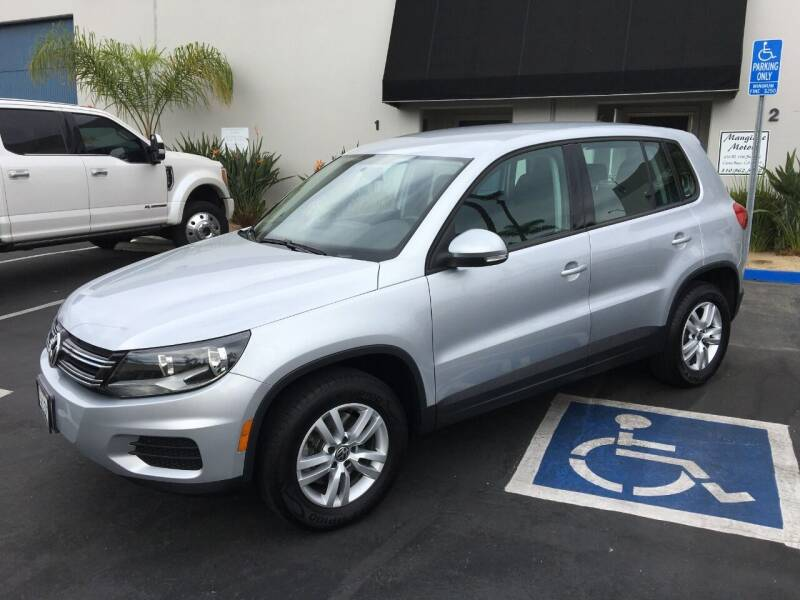 2012 Volkswagen Tiguan for sale at MANGIONE MOTORS ORANGE COUNTY in Costa Mesa CA