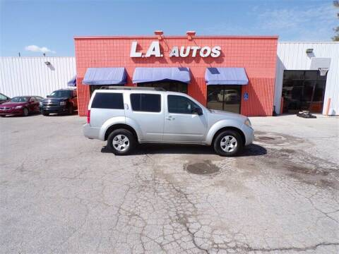 2009 Nissan Pathfinder for sale at L A AUTOS in Omaha NE