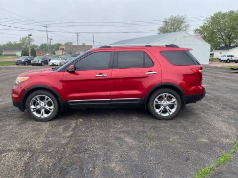 2012 Ford Explorer for sale at Diede's Used Cars in Canistota SD