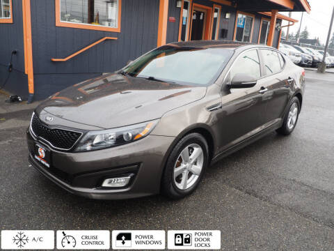 2015 Kia Optima for sale at Sabeti Motors in Tacoma WA