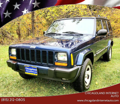 2001 Jeep Cherokee for sale at Chicagoland Internet Auto in New Lenox IL