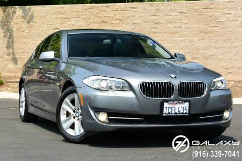 2013 BMW 5 Series for sale at Galaxy Autosport in Sacramento CA