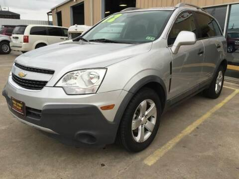 2012 Chevrolet Captiva Sport for sale at Market Street Auto Sales INC in Houston TX