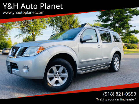 2008 Nissan Pathfinder for sale at Y&H Auto Planet in West Sand Lake NY