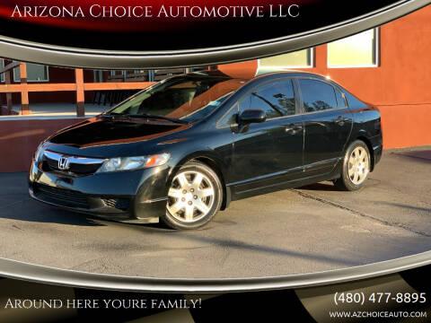 2009 Honda Civic for sale at Arizona Choice Automotive LLC in Mesa AZ