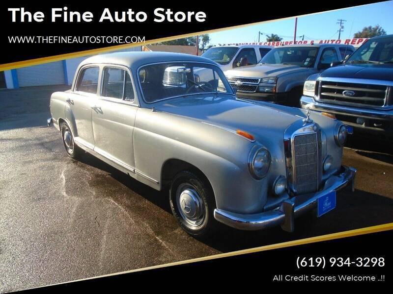 1959 Mercedes-Benz S-Class for sale at The Fine Auto Store in Imperial Beach CA