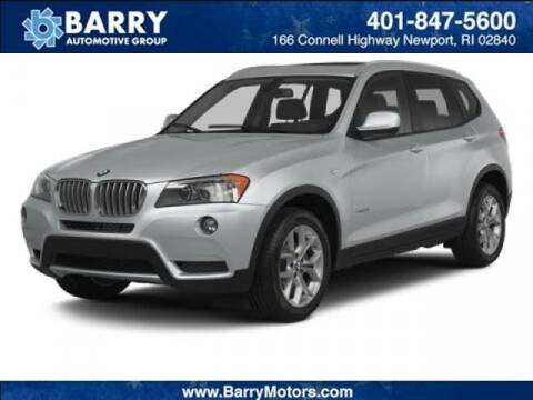 2014 BMW X3 for sale at BARRYS Auto Group Inc in Newport RI