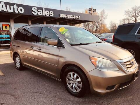 2008 Honda Odyssey for sale at Daniel Auto Sales inc in Clinton Township MI
