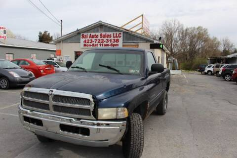 2001 Dodge Ram Pickup 1500 for sale at SAI Auto Sales - Used Cars in Johnson City TN