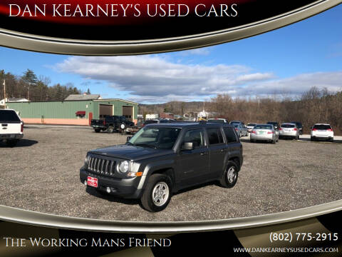 2014 Jeep Patriot for sale at DAN KEARNEY'S USED CARS in Center Rutland VT