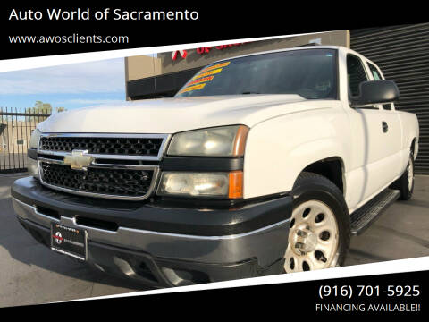 2006 Chevrolet Silverado 1500 for sale at Auto World of Sacramento Stockton Blvd in Sacramento CA