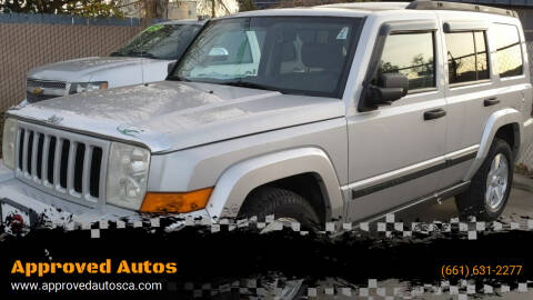 2006 Jeep Commander for sale at Approved Autos in Bakersfield CA
