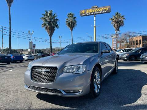 2016 Chrysler 300 for sale at A MOTORS SALES AND FINANCE in San Antonio TX