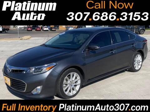 2013 Toyota Avalon for sale at Platinum Auto in Gillette WY