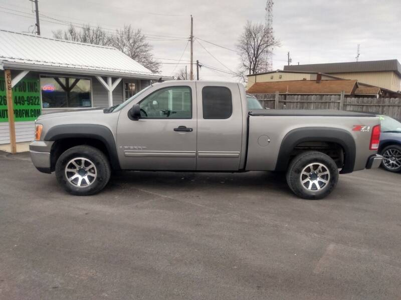 2008 GMC Sierra 1500 for sale at Auto Pro Inc in Fort Wayne IN