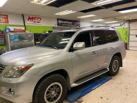 2008 Lexus LX 570 for sale at Ginters Auto Sales in Camp Hill PA