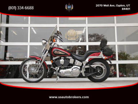 1998 Harley-Davidson FXSTS Springer Softail for sale at S S Auto Brokers in Ogden UT