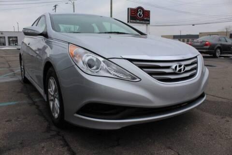 2014 Hyundai Sonata for sale at B & B Car Co Inc. in Clinton Twp MI