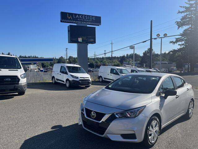 2020 Nissan Versa for sale at Lakeside Auto in Lynnwood WA