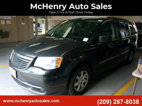 2012 Chrysler Town and Country for sale at MCHENRY AUTO SALES in Modesto CA