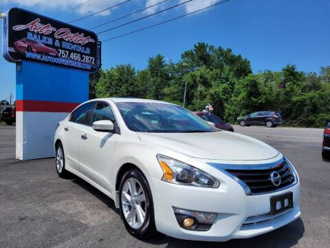 2015 Nissan Altima for sale at Auto Outlet Sales and Rentals in Norfolk VA