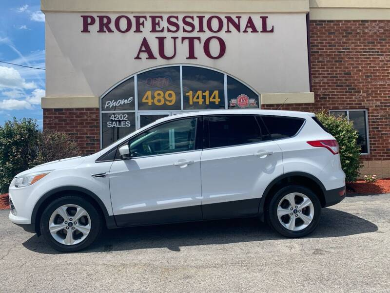 2014 Ford Escape for sale at Professional Auto Sales & Service in Fort Wayne IN