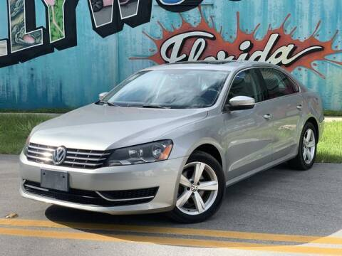 2013 Volkswagen Passat for sale at Palermo Motors in Hollywood FL