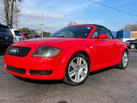 2004 Audi TT for sale at iDeal Auto in Raleigh NC
