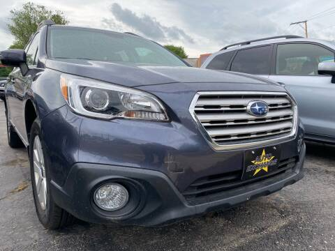 2015 Subaru Outback for sale at Auto Exchange in The Plains OH
