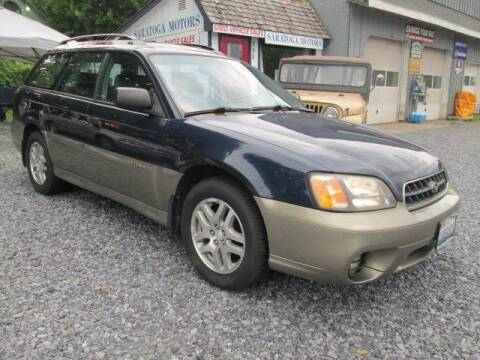 2003 Subaru Outback for sale at Saratoga Motors in Gansevoort NY