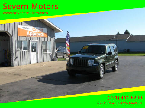 2008 Jeep Liberty for sale at Severn Motors in Cadillac MI